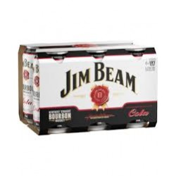 Jim Beam & Cola Cans