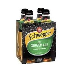 Schweppes Dry Ginger Ale 300ml